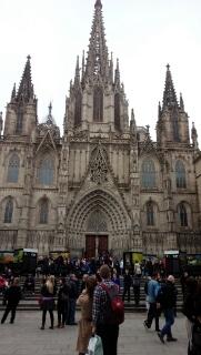 バルセロナ到着。
